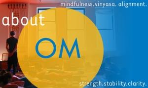 Om yoga philosophy.