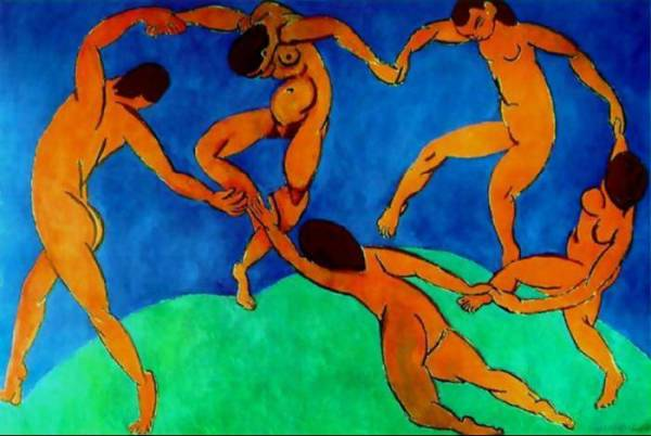"Henri Matisse's ""The Dance."""
