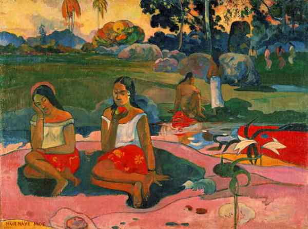 Paul Gauguin's Nave-Moe.  Looks like good health to me.